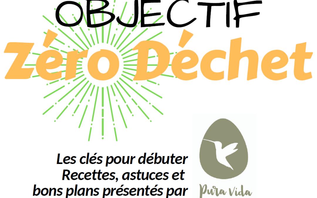 Objectif Zéro Déchet – lundi 11 mars 2019 dès 19h30 au Centre récréatif de Remouchamps