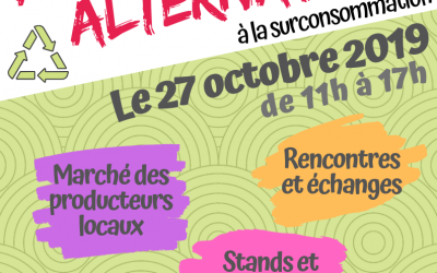 5ème Foire des Alternatives ce 27 octobre à Remouchamps